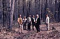 1965. L-R George Green, Pointing, Bubreul, Brown, Benton Howard, Tom Silver. Ontario. (36028420506).jpg