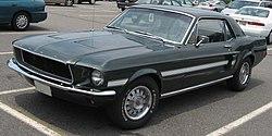 Ford Mustang GT C/S de 1968.