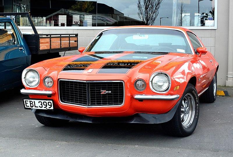 File:1973 Chevrolet Camaro Z28 (21185362299).jpg