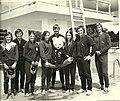 1974 Rhodesian and SA divers Les Smith Don Liebermann Adrienne Wilson Gina Lawrie SA Dave Parrington Jennie Lundie SA Joe Thewlis SA Martin Lundie SA-bddcd3a6.jpg
