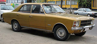 Chevrolet Opala Mid-size car