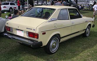 Subaru Leone - Image: 1978 Subaru DL 2dr sdn rear