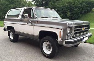 Chevrolet K5 Blazer - Image: 1979 Chevrolet K5 Blazer Cheyenne