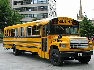 Ford B series type of bus
