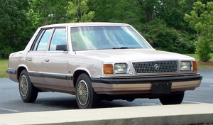 Plymouth Reliant - 1985-89 Plymouth Reliant sedan