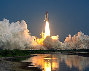 STS-28 - Liftoff of STS-28.
