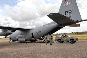 198th Airlift Squadron - Lockheed C-130E-LM Hercules 64-0515.jpg