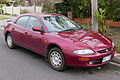 1995 Mazda 323 (BA) Astina sedan (2015-08-07) 01.jpg