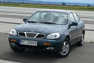 Daewoo Leganza Motor vehicle