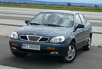 Fabryka Samochodów Osobowych - Polish Daewoo Leganza