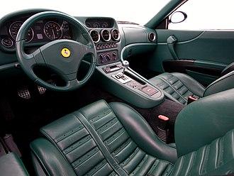 Ferrari 550 - Interior
