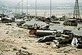 1Demolished vehicles line Highway 80 on 18 Apr 1991.jpg