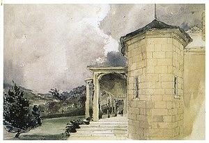 Bronte House - Painting of Bronte House by Georgiana Lowe