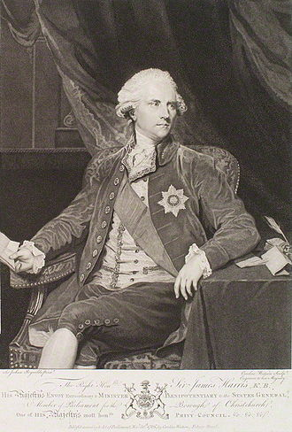 James Harris, 1st Earl of Malmesbury - The Earl of Malmesbury