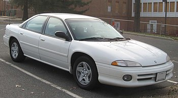 Dodge Intrepid photographed in College Park, M...