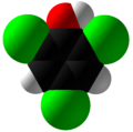2,4,6-Trichlorophenol Space Fill.png