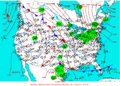 2004-01-16 Surface Weather Map NOAA.png