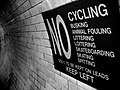 2005-06-27 - United Kingdom - England - London - No cycling - No busking - No Animal fouling - No li 4887325377.jpg
