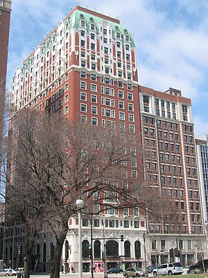 The Blackstone Hotel - The Blackstone Hotel in 2008