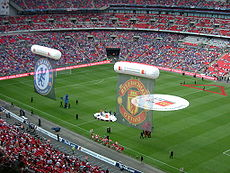 2009 FA Community Shield - pre-match displays.JPG