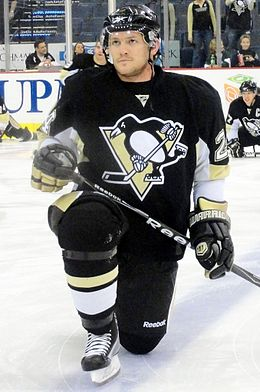 Matt Cooke avec les Penguins de Pittsburgh