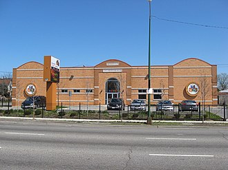 Pill Hill, Chicago - The Bronzeville Children's Museum is located at 9301 South Stony Island Avenue.