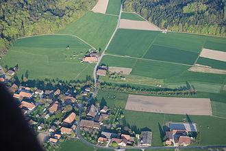 Etzelkofen - Fields outside the village of Etzelkofen