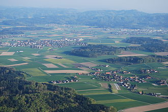 Geography of Switzerland - Rolling hills of the Emmental