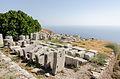2012 - near Basilike Stoa - Ancient Thera - Santorini - Greece - 01.jpg