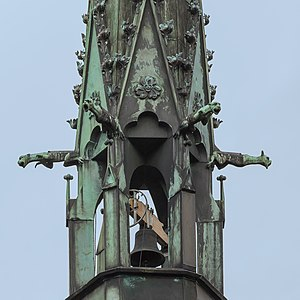 Architectural metals - Copper belfry of St. Laurentius church, Bad Neuenahr-Ahrweiler