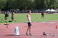 2013 IPC Athletics World Championships - 26072013 - Alexander Zverev of Russia during the Men's 400M - T13 Semifinal.jpg