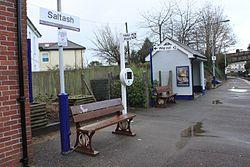 2013 at Saltash station - platform 1.jpg