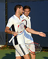 2014 US Open (Tennis) - Tournament - Michael Llodra and Nicolas Mahut (15106847196).jpg