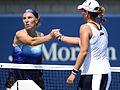 2014 US Open (Tennis) - Tournament - Svetlana Kuznetsova and Marina Erakovic (15086805235).jpg