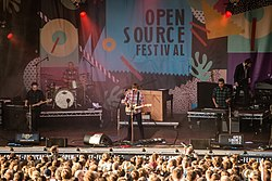 Death Cab for Cutie beim Open Source Festival 2015