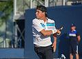 2015 US Open Tennis - Qualies - Jose Hernandez-Fernandez (DOM) def. Jonathan Eysseric (FRA) (20965768305).jpg