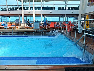 Celebrity Silhouette - Image: 2016 02 FRD Caribbean Cruise Celebrity Silhouette Solarium S0398086