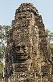 2016 Angkor, Angkor Thom, Bajon (48).jpg