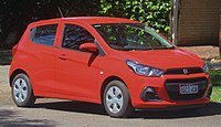 2016 Holden Barina Spark (MP MY17) LS hatchback (2018-11-26).jpg