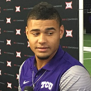 Kenny Hill (quarterback) - Hill at 2017 Big 12 Media Days