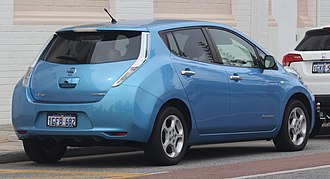 Nissan Leaf - Nissan Leaf SL