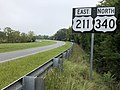 2018-08-31 09 47 02 View east along U.S. Route 211 and north along U.S. Route 340 just northeast of the junction with U.S. Route 211 Business (Main Street) in Luray, Page County, Virginia.jpg