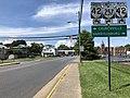 2018-08-31 13 55 24 View west along Virginia State Route 257 (Dinkel Avenue) at Liberty Street in Bridgewater, Rockingham County, Virginia.jpg