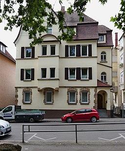 Grazer Straße in Stuttgart