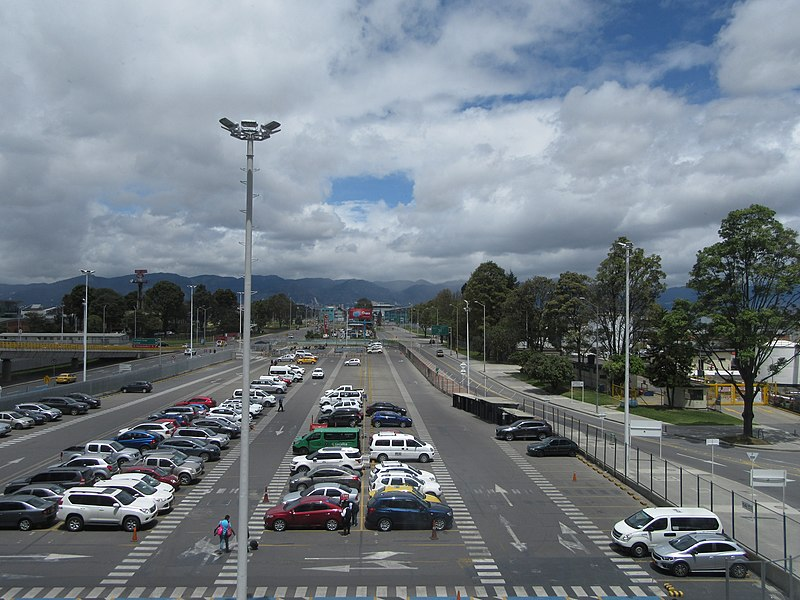 Onde estacionar na Colômbia