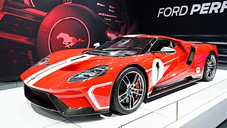 Flagship sports car manufactured by Ford