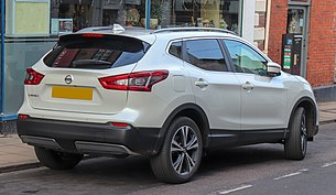 2018 Nissan Qashqai N-Connecta DCi 1.5 Rear.jpg