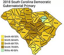 2018 South Carolina gubernatorial election - Wikipedia