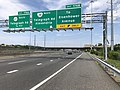 2019-05-29 11 04 16 View south along Interstate 95 and west along the inner loop of the Capital Beltway (Interstate 495) at Exit 176B (Virginia State Route 241 North-Telegraph Road, Alexandria, To Eisenhower Avenue) in Huntington, Virginia.jpg