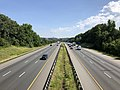 2019-06-24 10 14 32 View north along Interstate 95 from the overpass for U.S. Route 17 (Mills Drive) in Fourmile Fork, Spotsylvania County, Virginia.jpg